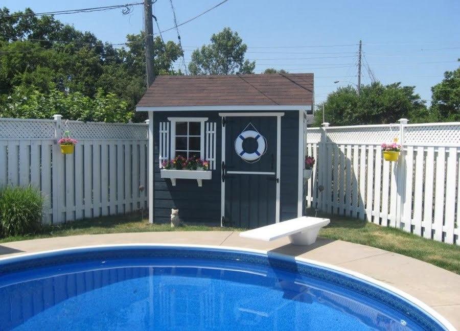 prefab pool house