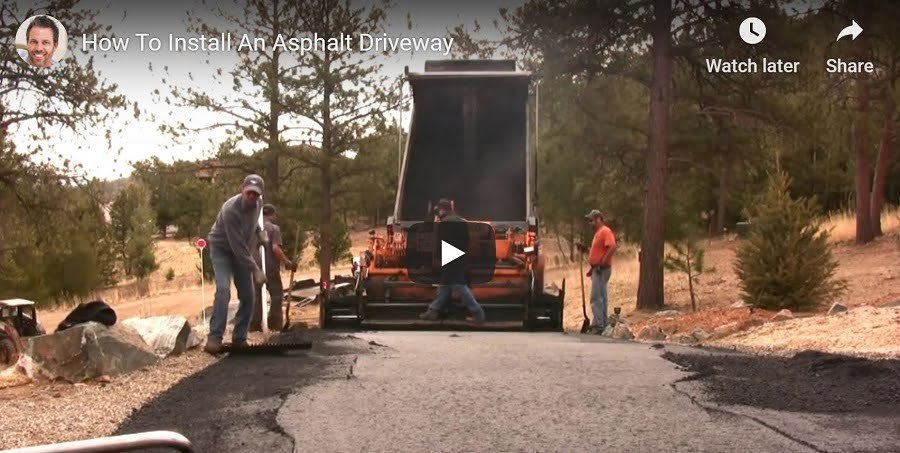 DIY Asphalt Driveway