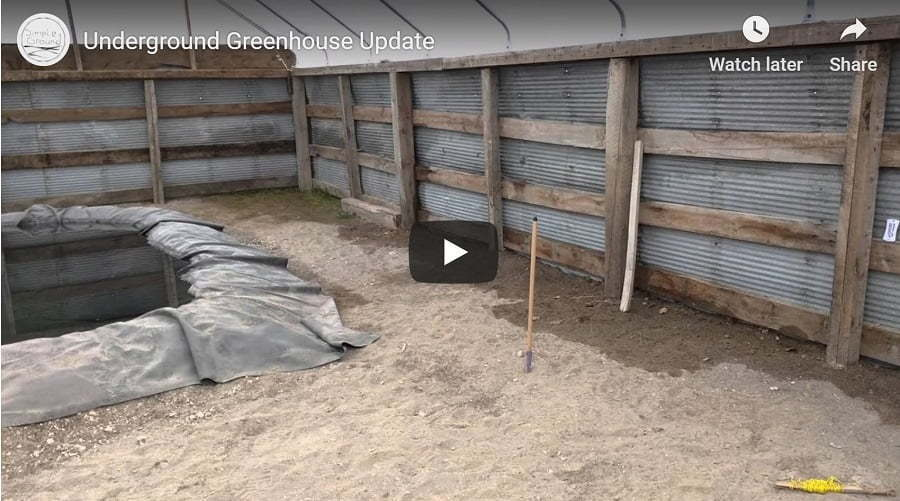 in-ground greenhouse video