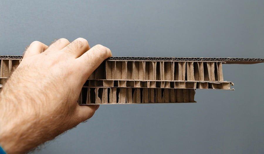 thick cardboard