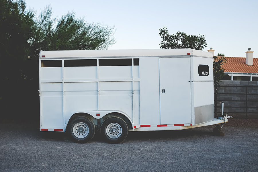 Horse Trailer Camper Conversion