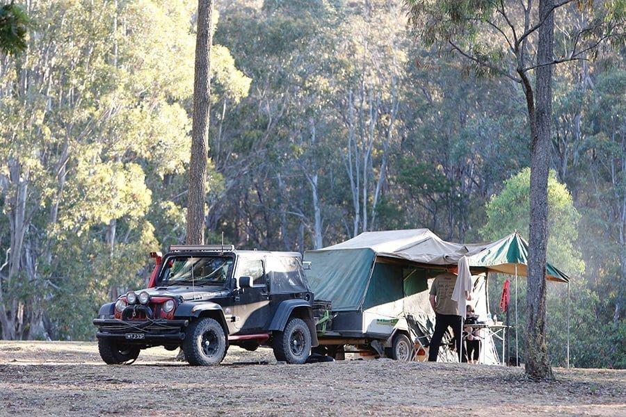 Utility Trailer Tent Conversion