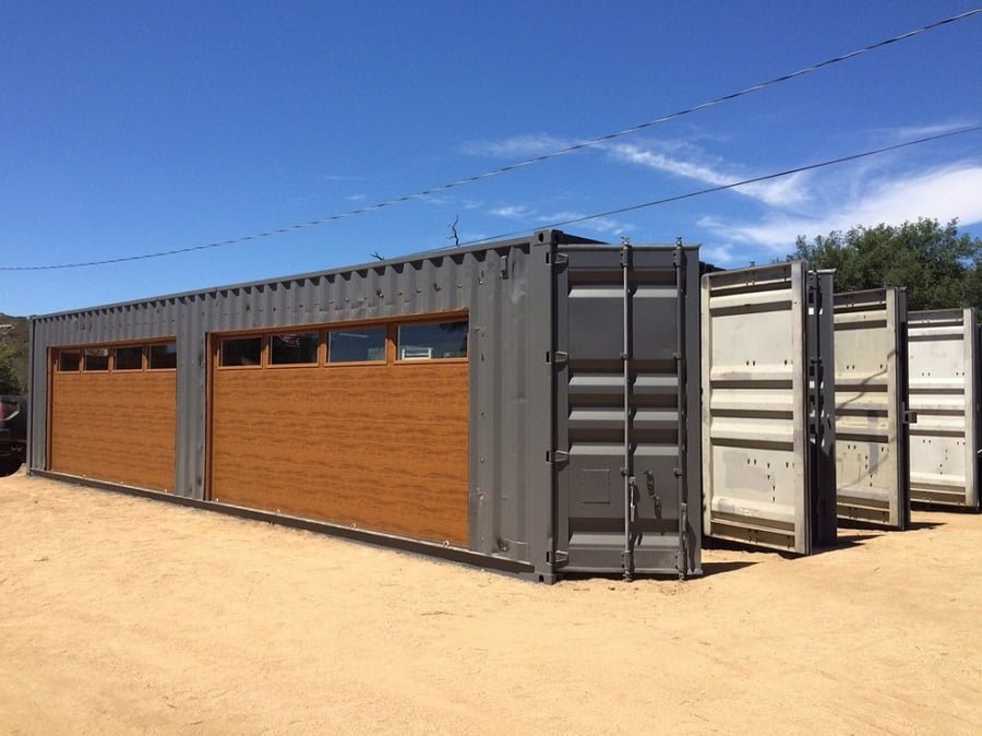 shipping container garage