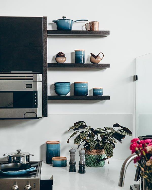 Microwave Shelf Ideas