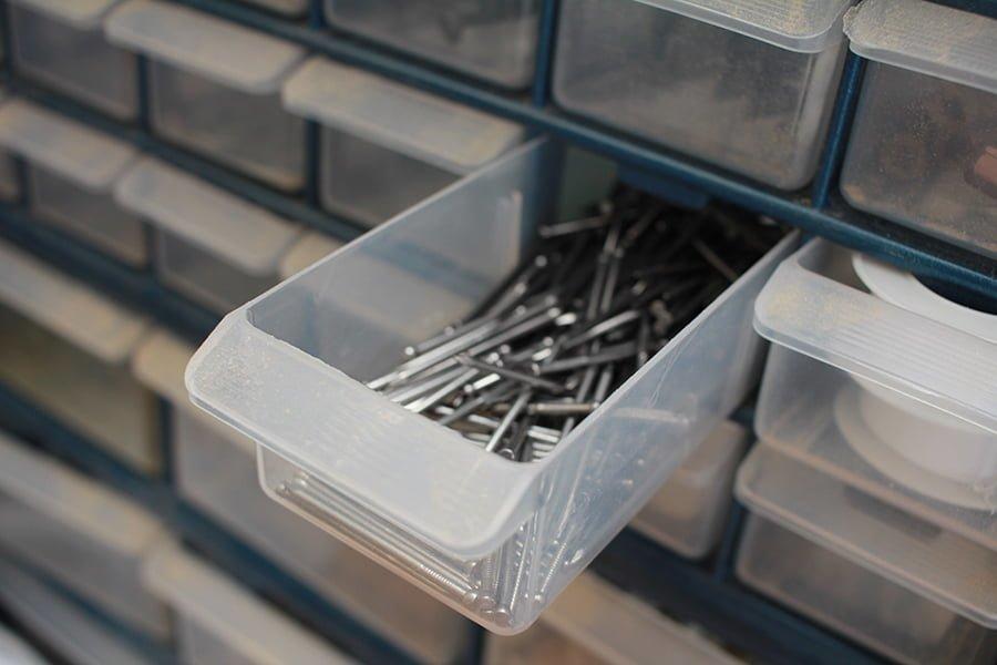 Tiny Storage Drawers