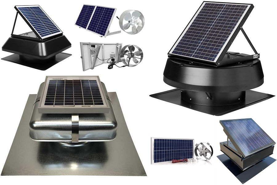 best solar attic fans