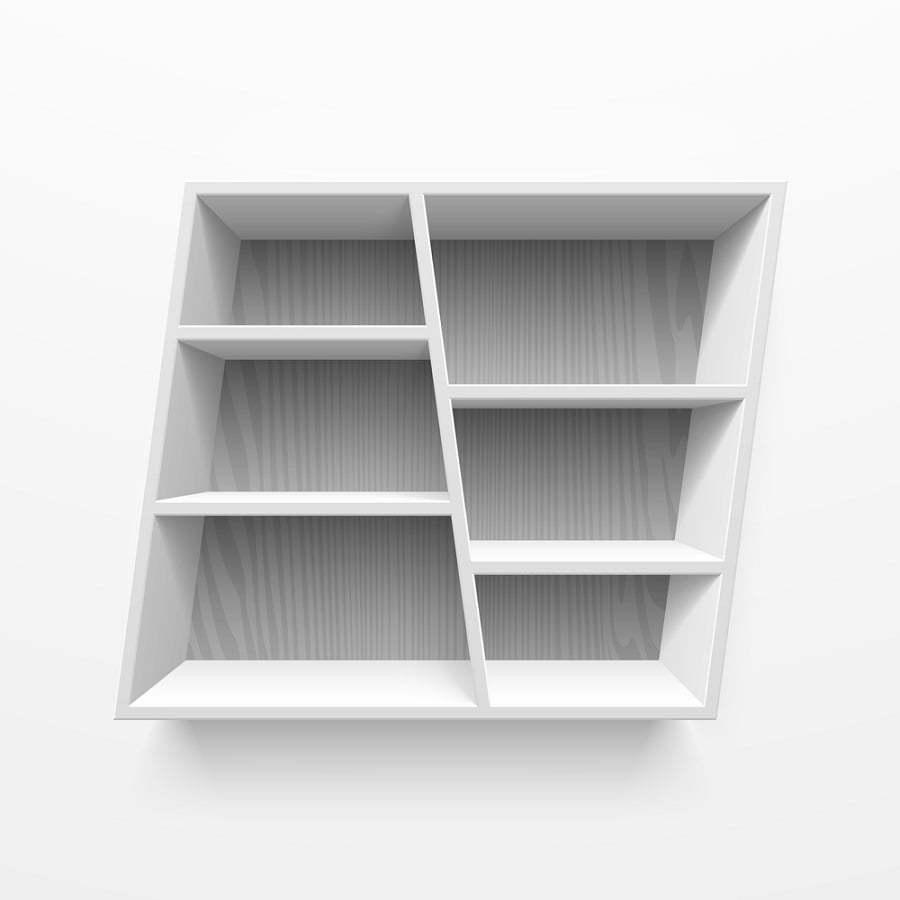 cube shelves
