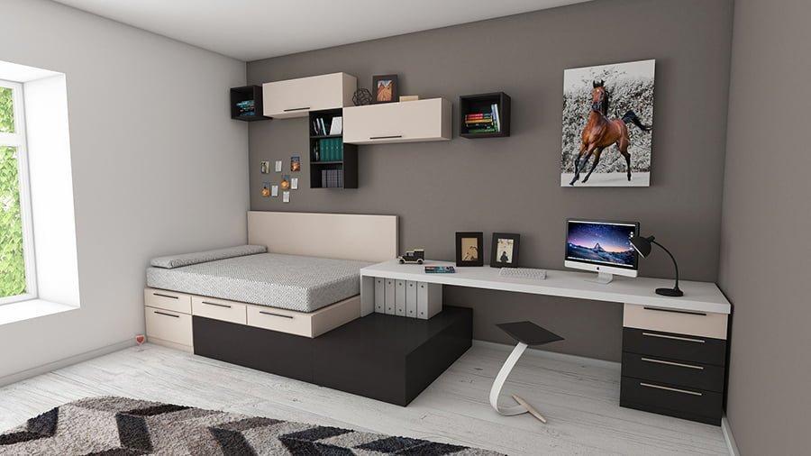 Multi purpose bed