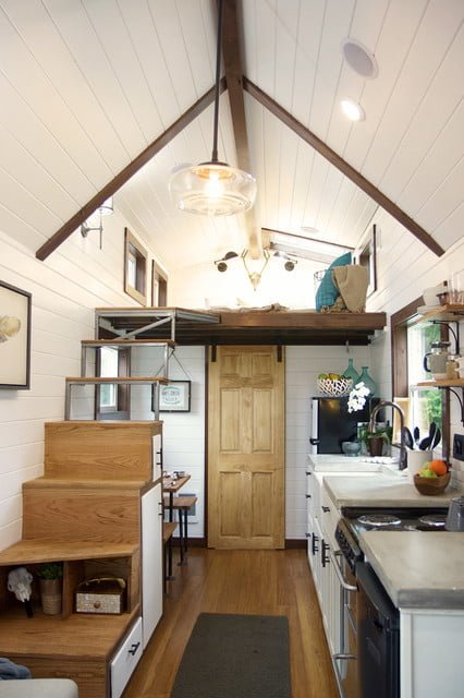 Tiny house double loft