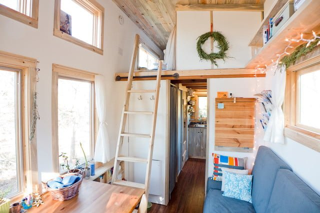 Tiny house loft height