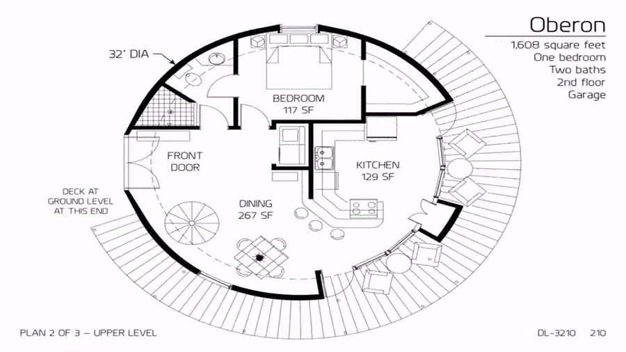 Dome homes floor plans