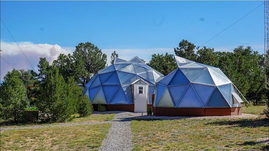 Hexagon dome house