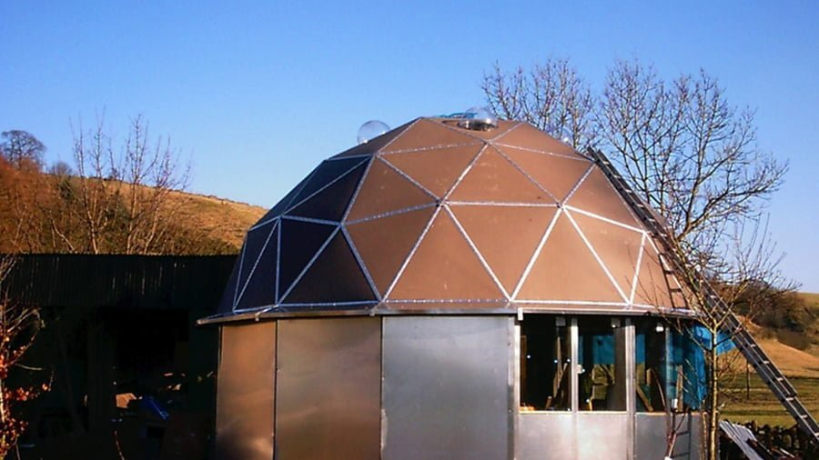 How to build a dome house
