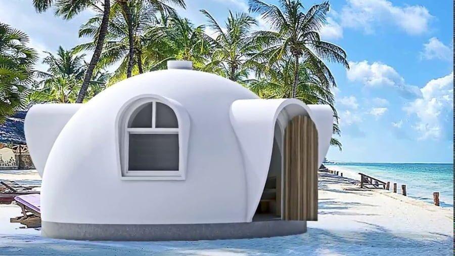 Prefab dome homes