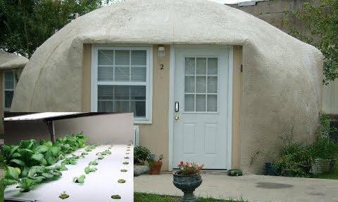 Styrofoam dome house