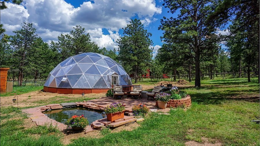 What is Geodesic Greenhouse