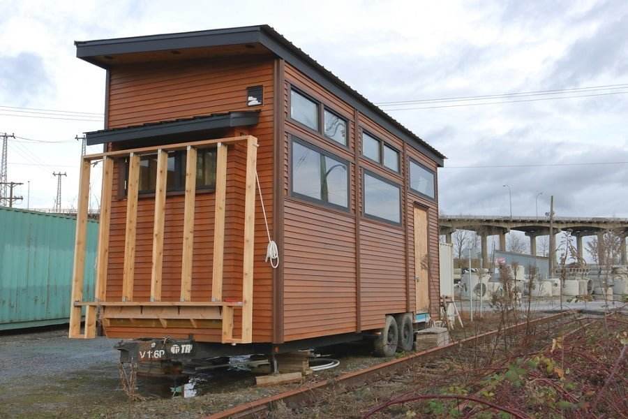 diy tiny house trailer