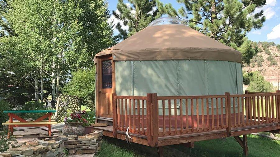 Permanent Yurt Kit