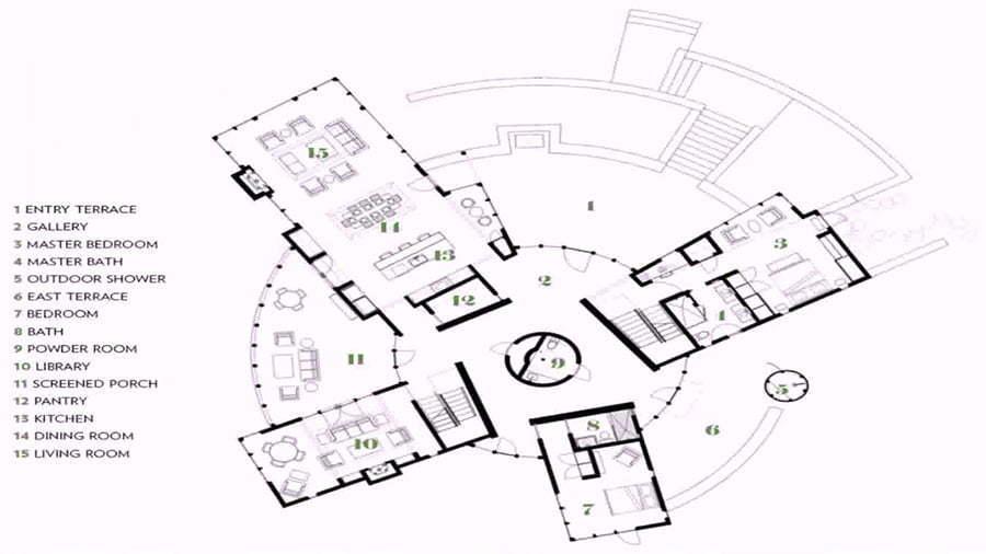 Wooden Yurt Floor Plans