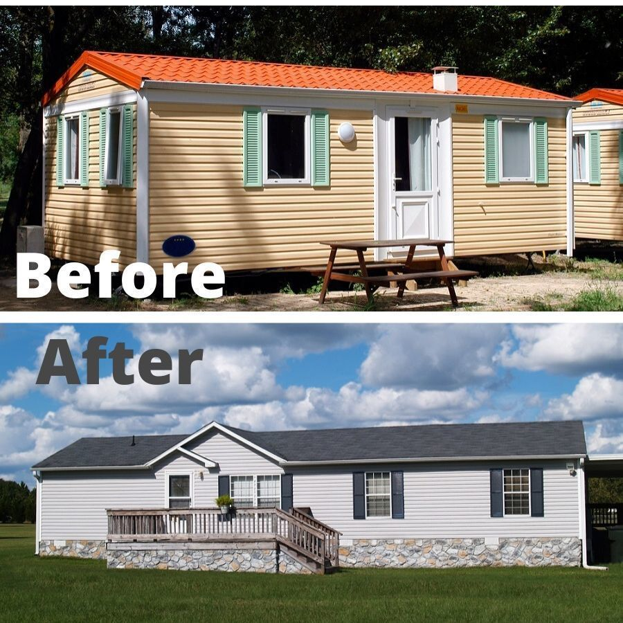 manufactured-home like site built house