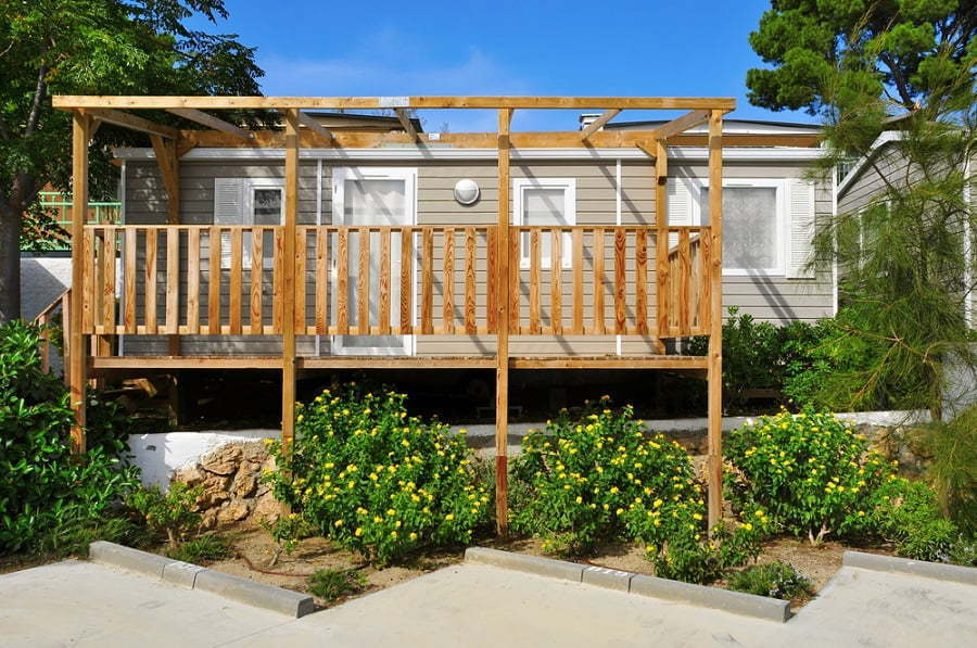 manufactured home porch