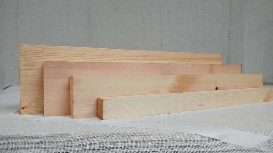 construction wood planks