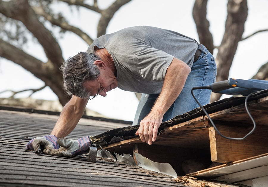 maintaining roof