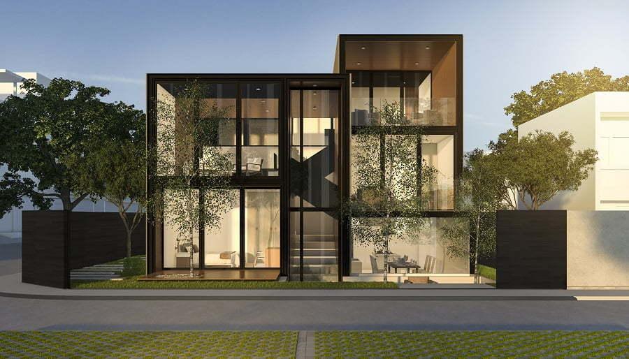 modern metal home