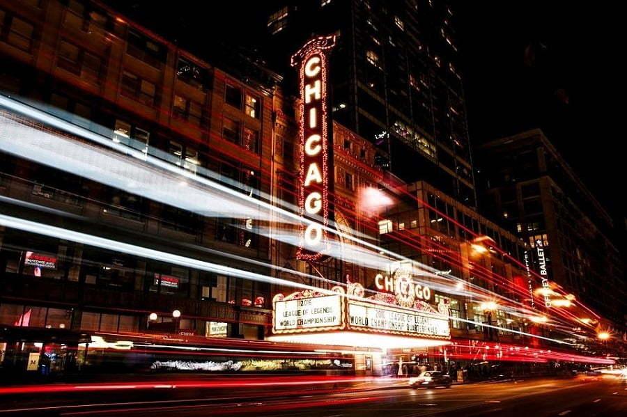 chicago street light