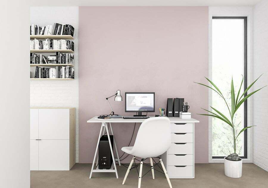 home office greenery