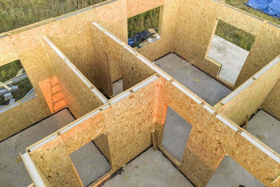 prefab house frame