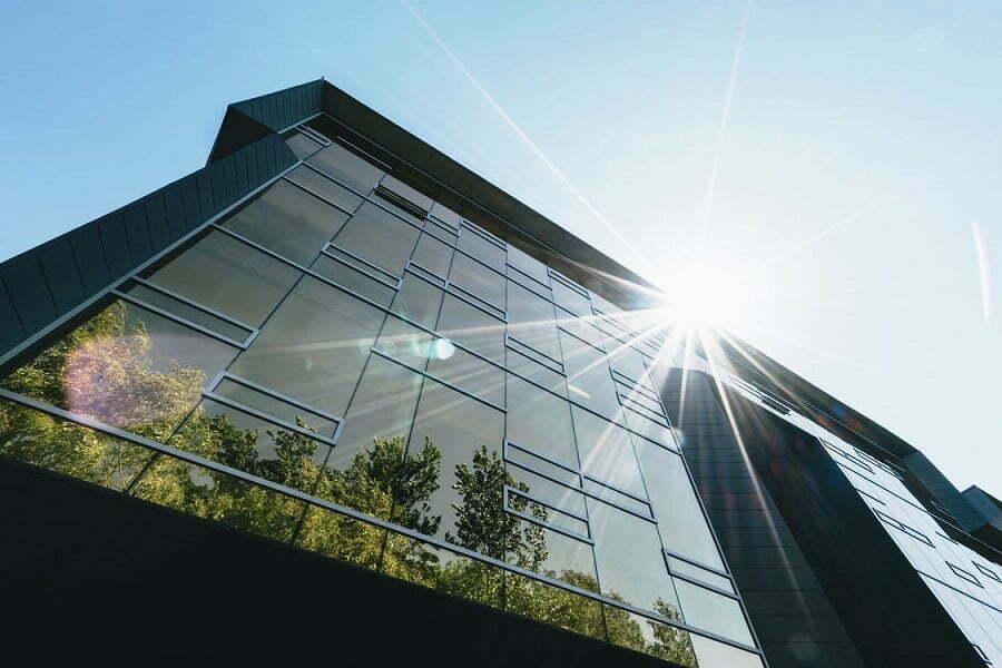 modern green building