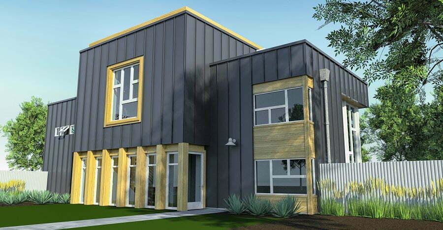 metal prefab house