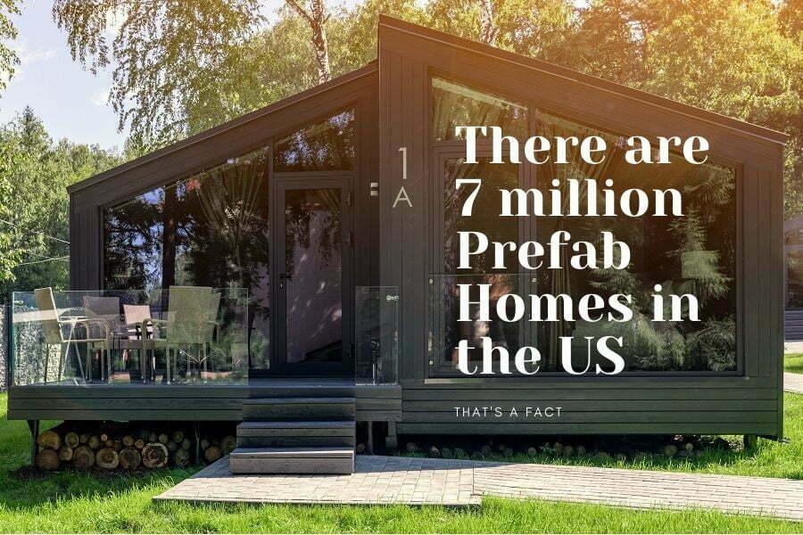 prefab homes fact